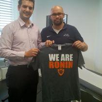 Dr. Med. Marc Kreutz ist neuer Teamarzt der Cologne Ronin
