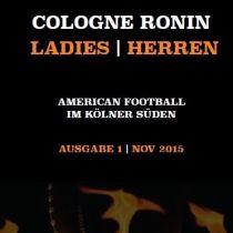Cologne Ronin Newspaper – Ausgabe 1 Nov 2015